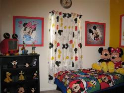 Boys room curtain